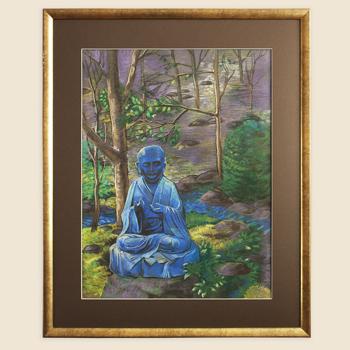 Japan series pastel artworks
