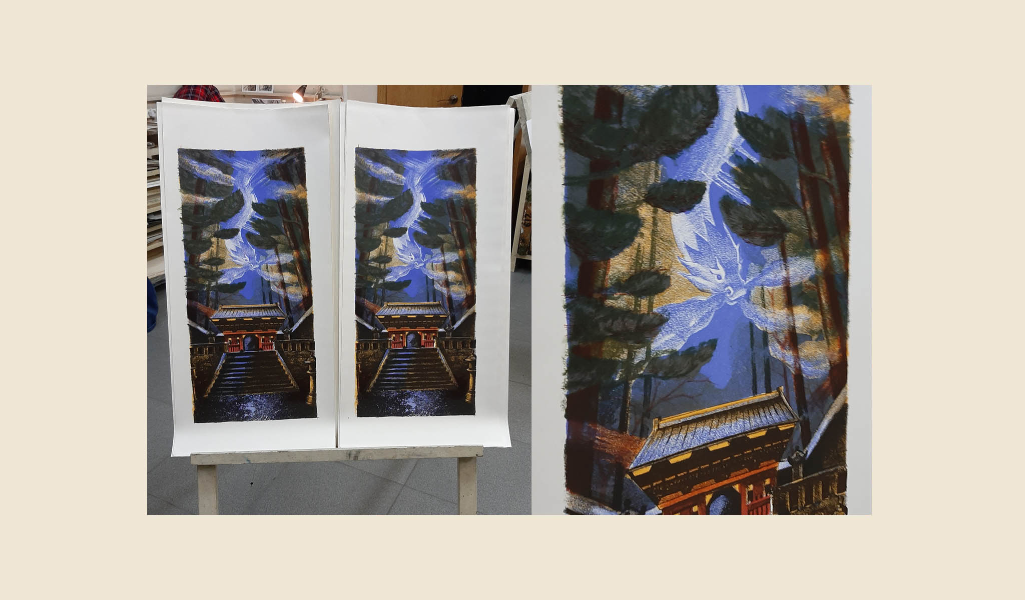 Color lithography